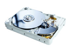 Opened Hard Disk Drive Stock Photos