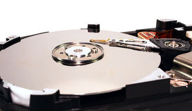 Opened hard disk Royalty Free Stock Photography