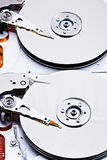 Opened harddisk Stock Photos