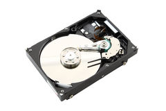 Opened harddisk Stock Images