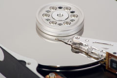 Opened hdd. Royalty Free Stock Photos