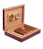 Opened humidor Royalty Free Stock Photography