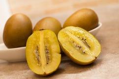 Opened kiwi fruit Stock Image
