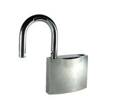 Opened lock Royalty Free Stock Photos
