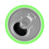 Opened metal can Royalty Free Stock Photo