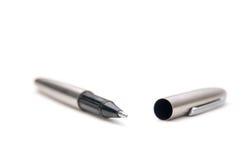 Opened metal pen Stock Photography