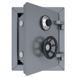 Opened metal safe Royalty Free Stock Image