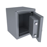 Opened metal safe Stock Image