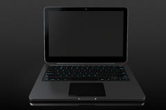 Opened Modern laptop Royalty Free Stock Photography