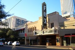 Fox Theatre, Downtown Tucson Arizona. royalty free stock photography