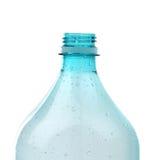 Opened neck plastic bottle. Royalty Free Stock Image