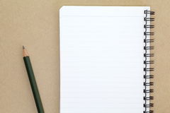 Opened note book Royalty Free Stock Photos