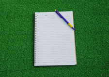 Opened note book Royalty Free Stock Images