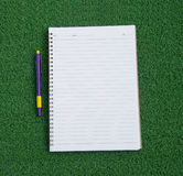 Opened note book Royalty Free Stock Image