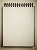 Opened notebook Royalty Free Stock Photography