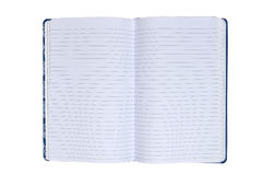Opened notebook Stock Photos