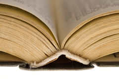 Opened old book  Royalty Free Stock Photo