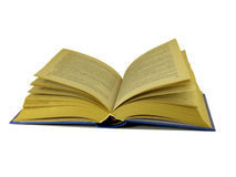 Opened old book Royalty Free Stock Photos