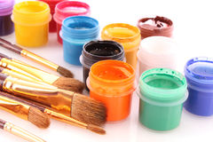 Opened paint Royalty Free Stock Images
