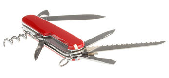 Opened penknife Royalty Free Stock Photography