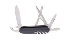 Opened a pocket knife Royalty Free Stock Photo