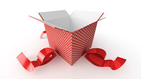 Opened present Royalty Free Stock Photo
