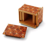 Opened Puzzle Box Stock Photography