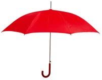 Opened red umbrella Stock Image