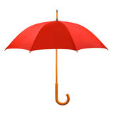 Opened red umbrella Stock Image
