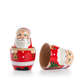 Opened Santa Doll Royalty Free Stock Images