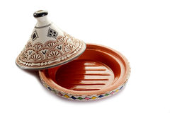 Opened tajine Stock Image