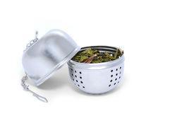 Opened tea Strainer Stock Photography