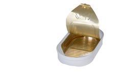 Opened tin can Stock Photos