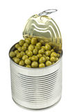 Opened tin Royalty Free Stock Photography