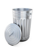 Opened trash can Royalty Free Stock Image