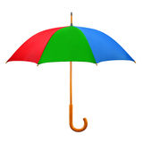 Opened umbrella Stock Images