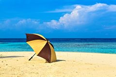 Opened umbrella Royalty Free Stock Photo