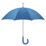 Opened umbrella, vector Stock Images