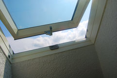 Opened window Stock Image