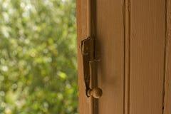 Opened window Stock Photos