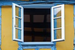 Opened windowq Stock Image