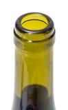 Opened Wine Bottleneck Stock Image