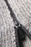 Opened zipper Royalty Free Stock Photos