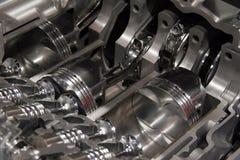 Opengewerkte motor Stock Afbeeldingen