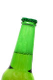 Opening beer bottle Stock Photo
