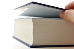 Opening book Royalty Free Stock Photo