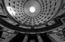 Pantheon - From another angle, the same frame royalty free stock photo
