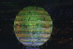 Green World. The opening ceremonies of the 2008 Beijing Olympics is quite possibly the greatest opening ceremony of the modern era stock photos