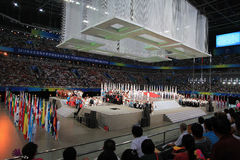 The opening ceremony Royalty Free Stock Photo