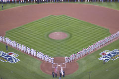 Opening ceremony of National League Championship Series Stock Photo